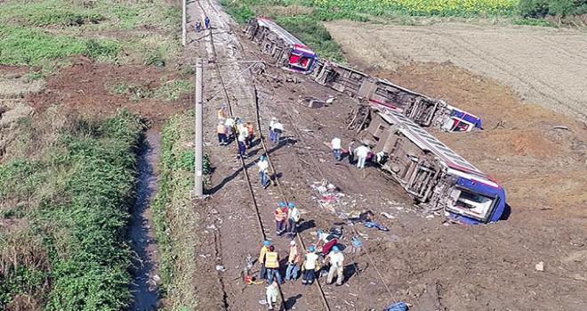 Çorlu tren kazasıyla ilgili flaş gelişme