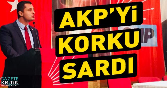 CHP'Lİ DENİZ YÜCEL: AKP'Yİ KORKU SARDI