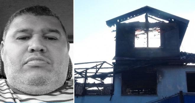 Yangından ailesini kurtardı, kendisi öldü