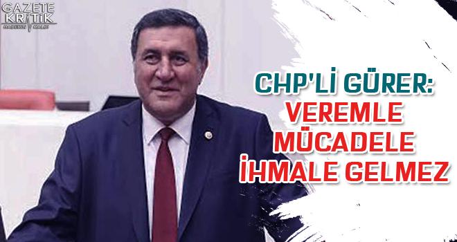 CHP'li Gürer: Veremle Mücadele İhmale Gelmez