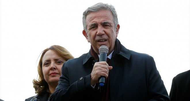 Mansur Yavaş: Hafriyat gelirleri Osmanlıspor'a verildi