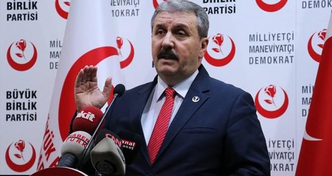 BBP gerekirse CHP ve İYİ Parti'yi destekleyecek