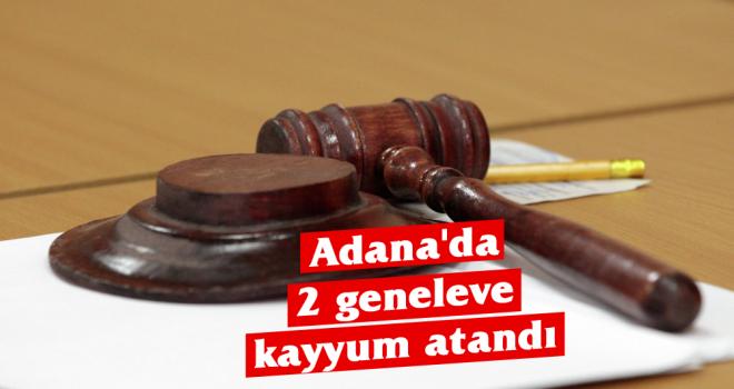 Adana'da 2 geneleve kayyum atandı