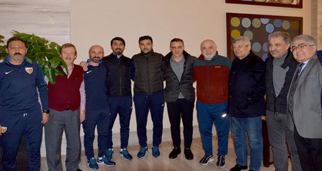 Lucescu'dan Fenerbahçe ve Kayserispor kampına ziyaret