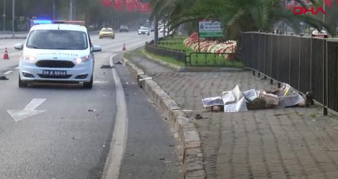 Vatan Caddesi'nde kaza: 1 ölü