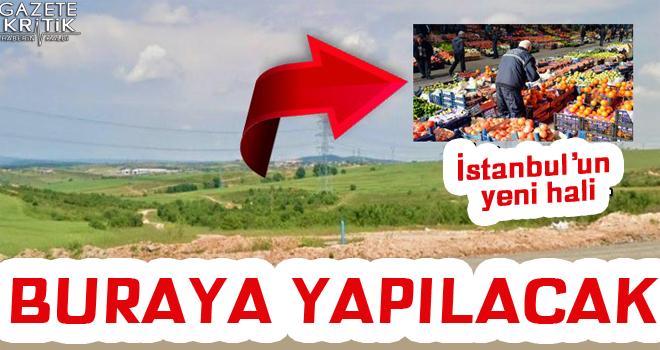 İstanbul'un yeni hali meralık alana yapılacak