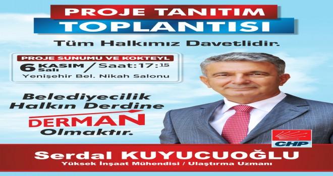 Büyükşehir Belediye Başkan A. Adayı Kuyucuoğlu Mersin için projelerini tanıtacak