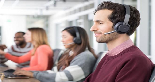 Logitech'ten açık ofisler için kablosuz kulaklık