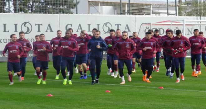 Trabzonspor'da Sosa ve Toure idmana katılmadı