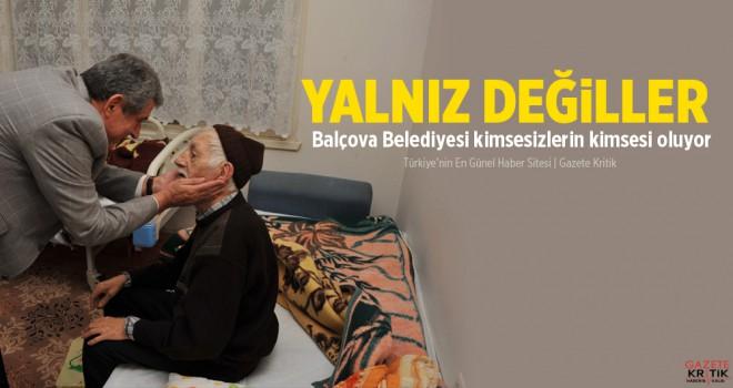 Balçova Belediyesi kimsesizlerin kimsesi oluyor