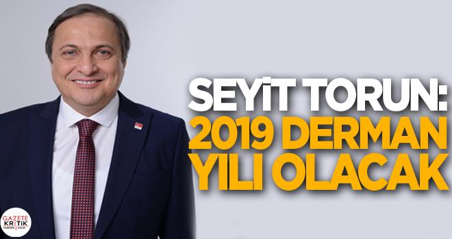 Seyit Torun: 2019 derman yılı olacak