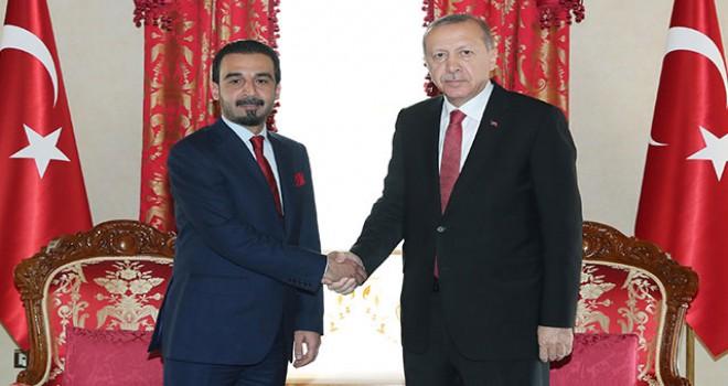 Cumhurbaşkanı Erdoğan Halbusi'yi kabul etti