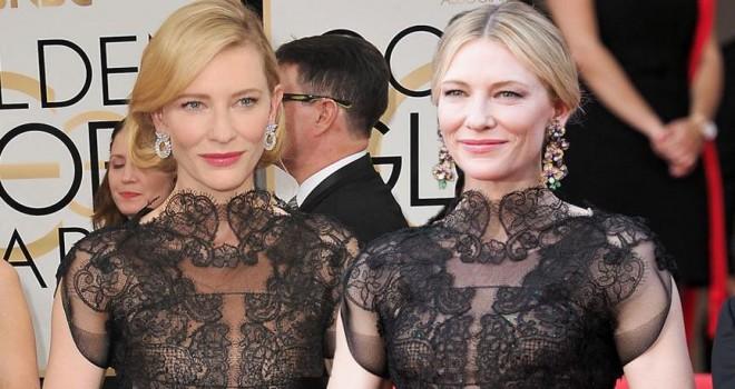 Cate Blanchett 4 yıl aradan sonra aynı kıyafeti Cannes'da giydi
