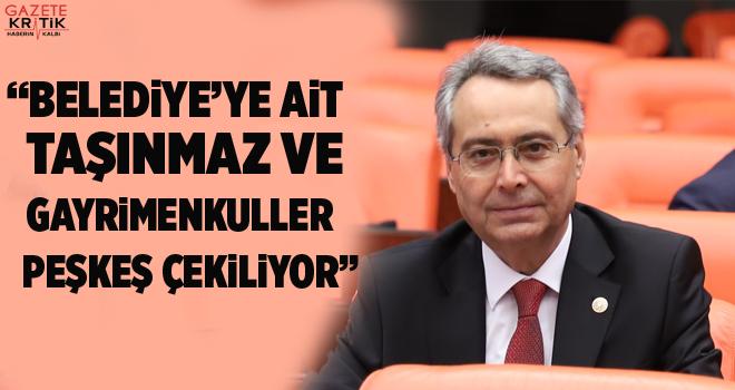 CHP Antalya Mv Rafet Zeybek'ten Antalya Büyükşehir Belediyesine Ensar Vakfına Kıyak Sorusu