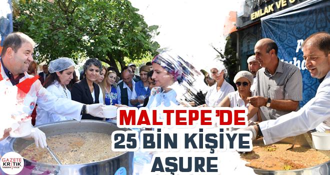 Maltepe'de 25 bin kişiye aşure