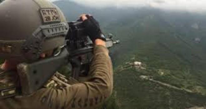 Şırnak'ta İHA tespit etti, 4 PKK'lı terörist öldürüldü