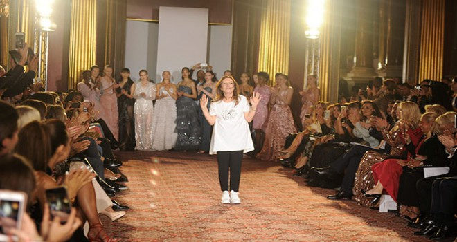 Modacı Zeynep Kartal dokuzuncu kez Londra Moda Haftası'nda