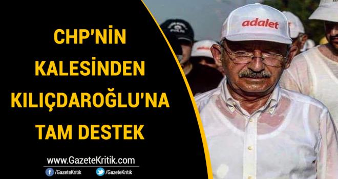 CHP'NİN TRAKYA'DAKİ KALESİNDEN KILIÇDAROĞLU'NA TAM DESTEK