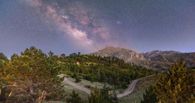 Uzay gözlemlerinin yapılabileceği en karanlık nokta Isparta'da