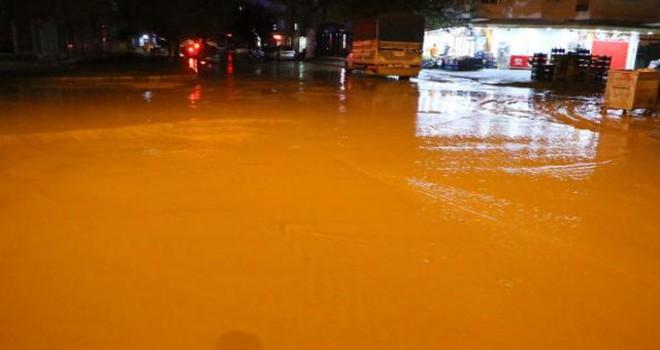 Adıyaman'da şiddetli yağmur, hayatı olumsuz etkiledi