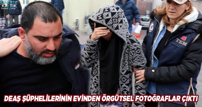 DEAŞ şüphelilerinin evinden örgütsel fotoğraflar çıktı