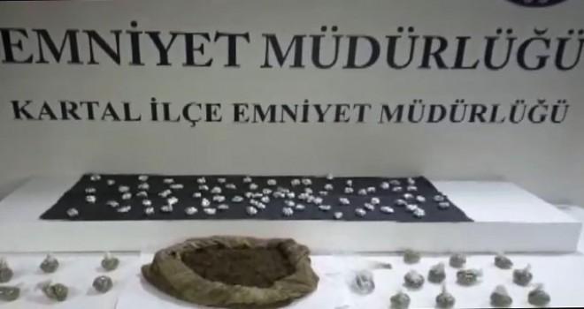 Kartal'da uyuşturucu operasyonu: 1 gözaltı
