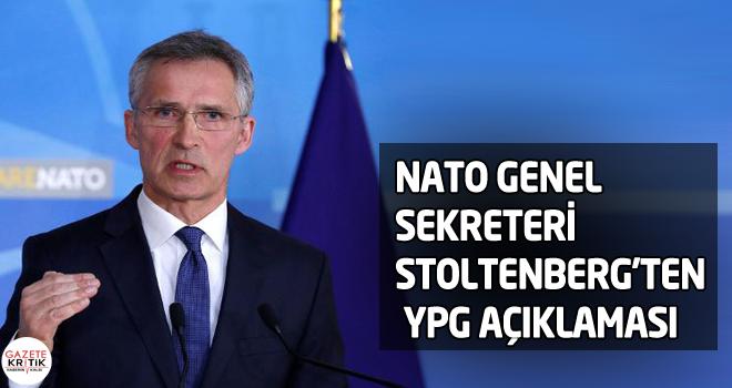 NATO Genel Sekreteri Stoltenberg'ten YPG açıklaması