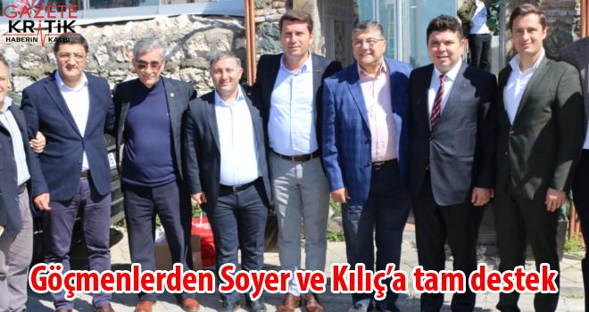 Rumeli ve Balkan göçmenleri CHP'de birleşti.