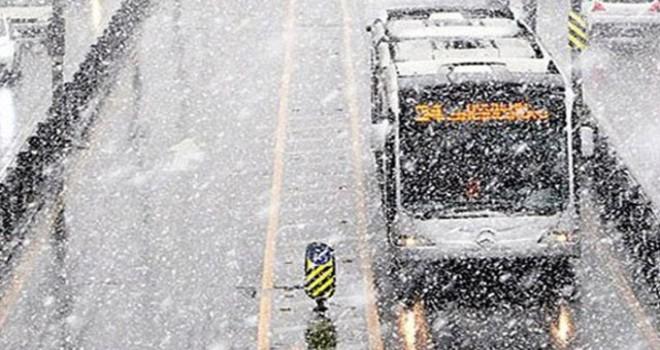 İBB'den kar açıklaması: Tüm önlemler alındı