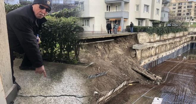 Yarım bırakılan inşaat korku saçıyor