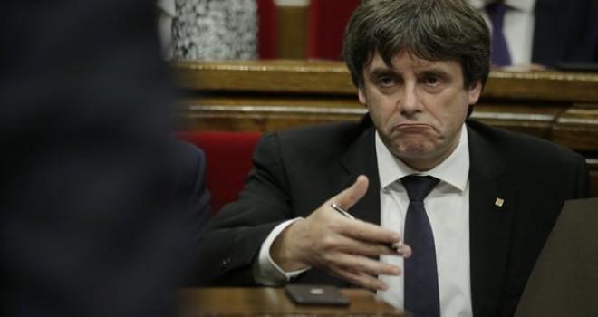 Katalonya Başbakanı: Bağımsızlık ilanını askıya alıyorum