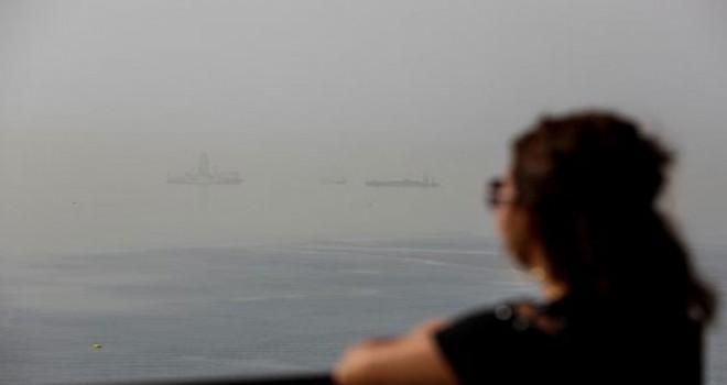 Toz bulutu Antalya'yı kapladı