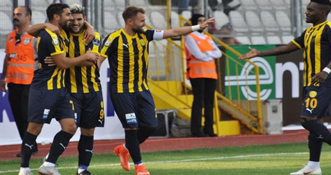 MKE Ankaragücü - Akhisarspor: 1-0
