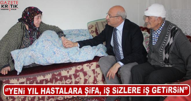 Milletvekili Çakırözer'den Tez ailesine ev ziyareti