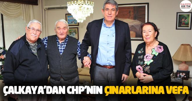 Çalkaya'dan CHP'nin Çınarlarına vefa