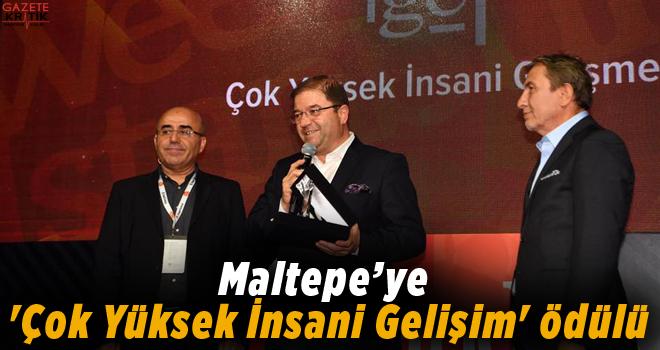 Maltepe'ye 'Çok Yüksek İnsani Gelişim' ödülü