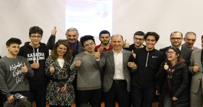 Beşiktaş Vizyon Buluşmaları, 'Yapay Zekayı Yönetmek' konuşması ile başladı