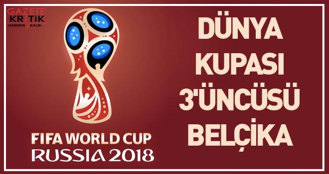 Dünya Kupası 3'üncüsü Belçika