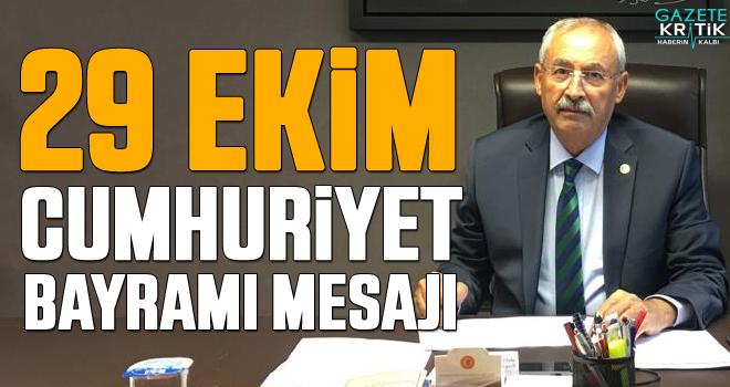 CHP'li İrfan Kaplan'dan 29 Ekim Cumhuriyet Bayramı Mesajı