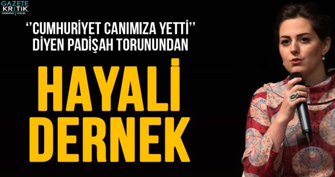 Nilhan Osmanoğlu'ndan hayali dernek