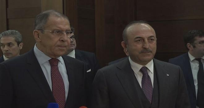 Mevlüt Çavuşoğlu: Suriye ve bölgesel konularda Rusya ve İran'la yakın işbirliğine devam edeceğiz
