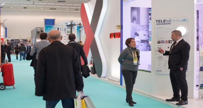 'Akıllı Bina Teknolojileri ve Elektrik Sistemleri Fuarı'na 5 binden fazla ziyaretçi