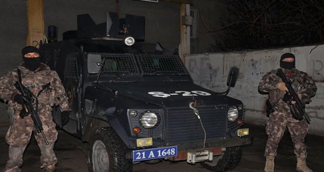 Diyarbakır'da 583 polisle hava destekli narkotik denetimi