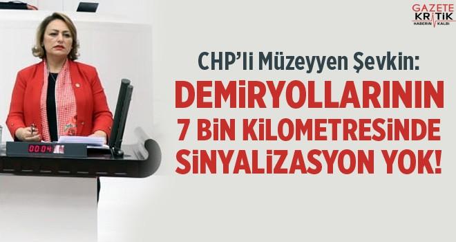 DEMİRYOLLARININ 7 BİN KİLOMETRESİNDE SİNYALİZASYON YOK!