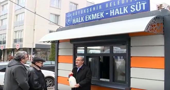 Prof. Dr. Yılmaz Büyükerşen:Günlük sütü çiftçimizden alıp, halka ucuza satıyoruz
