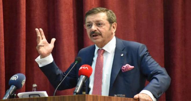 TOBB/Hisarcıklıoğlu: Devletimizi özle sektörün yanında görmekten mutluyuz