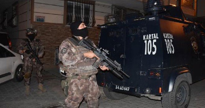 İstanbul'da büyük operasyon! Çok sayıda kişi gözaltında