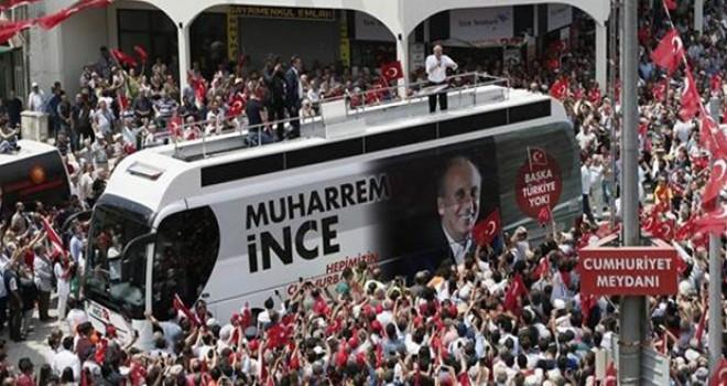 AKP ve MHP'li bir grup İnce'nin Menderes'teki mitingine saldırmak istedi
