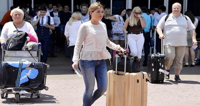 Antalya'ya gelen turist sayısı 12,5 milyonu geçti