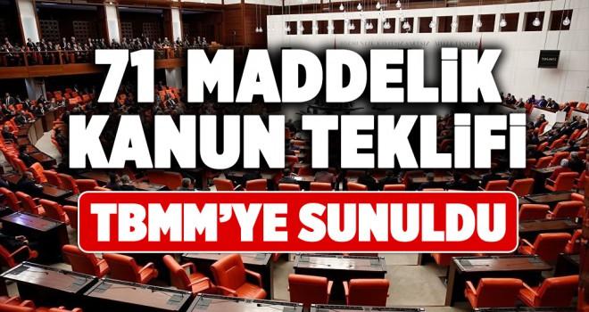 AK Parti'den ekonomideki ihtiyaçlara yönelik 71 maddelik kanun teklifi